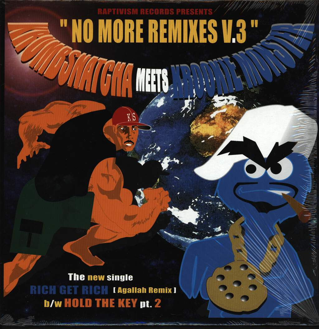 "Krumb Snatcha: No More Remixes V.3, 12"" Maxi Single (Vinyl)"