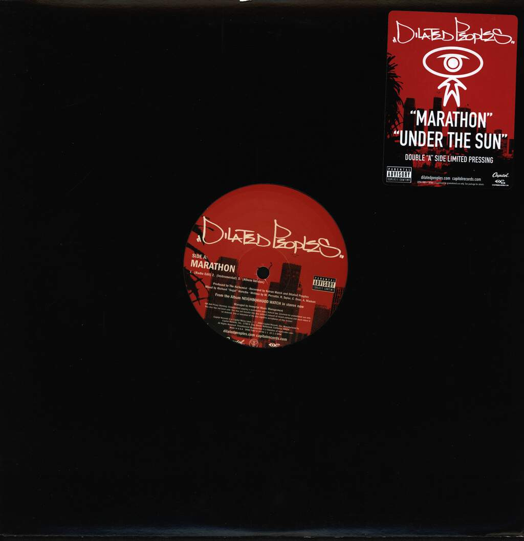 "Dilated Peoples: Marathon / Under The Sun, 12"" Maxi Single (Vinyl)"