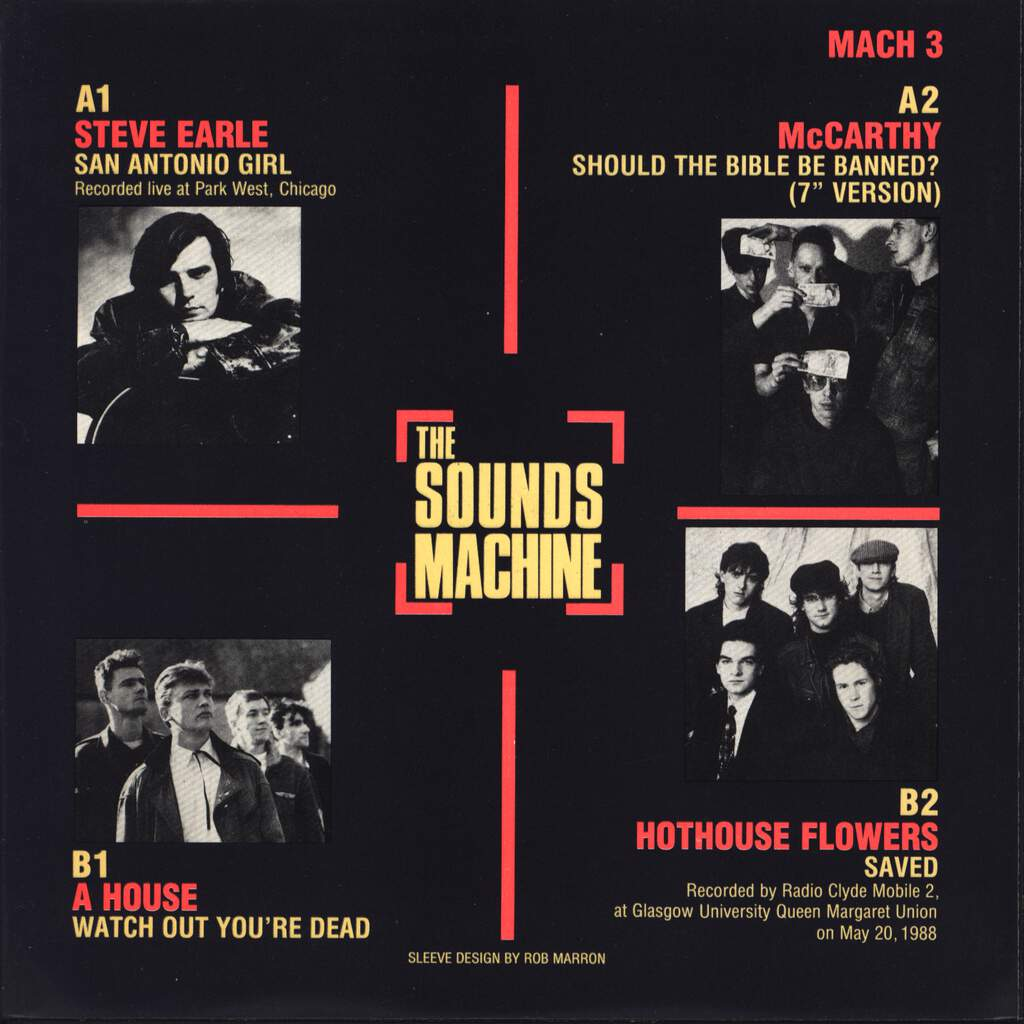 "Various: The Sounds Machine EP 3, 7"" Single (Vinyl)"