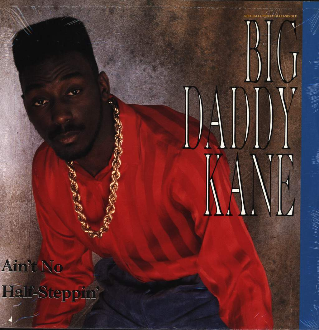 "Big Daddy Kane: Ain't No Half-Steppin' / Get Into It, 12"" Maxi Single (Vinyl)"