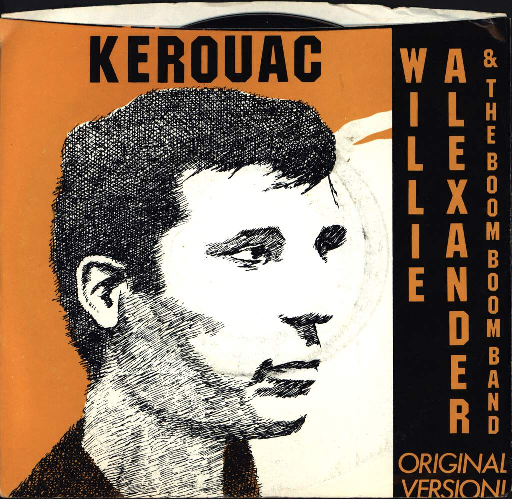 "Willie Alexander & The Boom Boom Band: Kerouac, 7"" Single (Vinyl)"