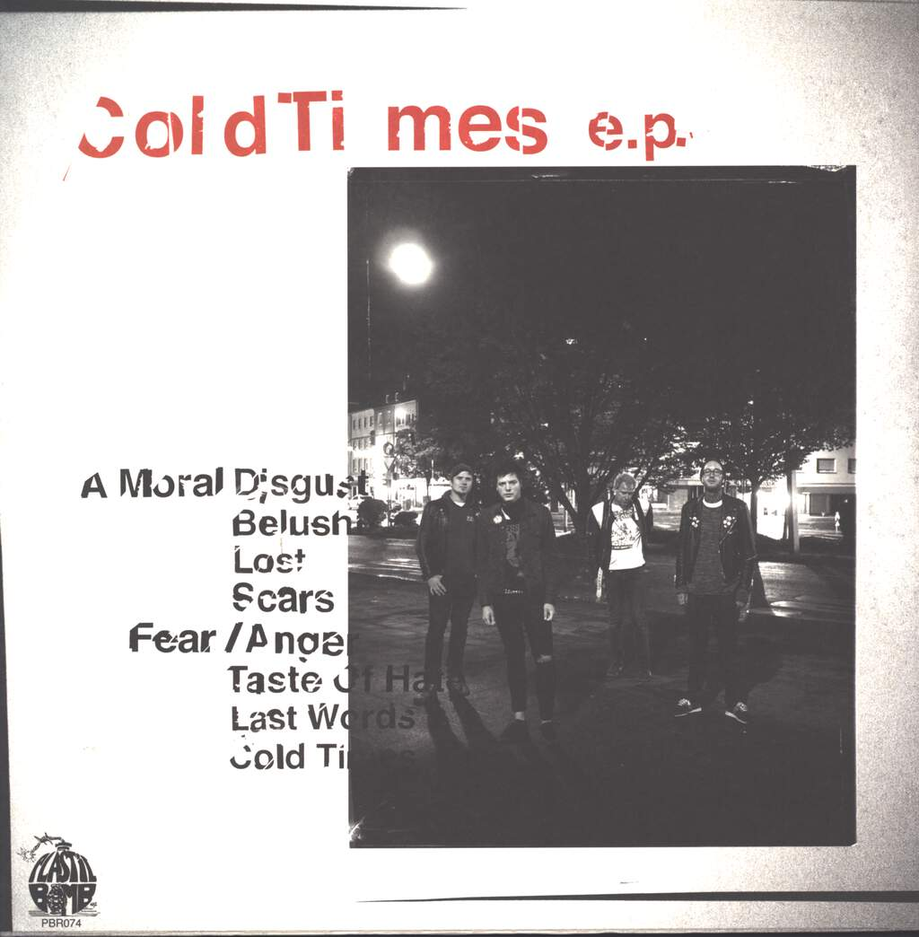 "Sniffing Glue: Cold Times E. P., 12"" Maxi Single (Vinyl)"