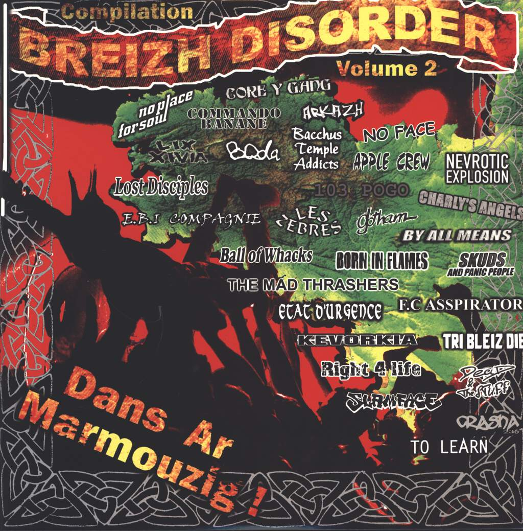 Various: Breizh Disorder Compilation Volume 2, LP (Vinyl)