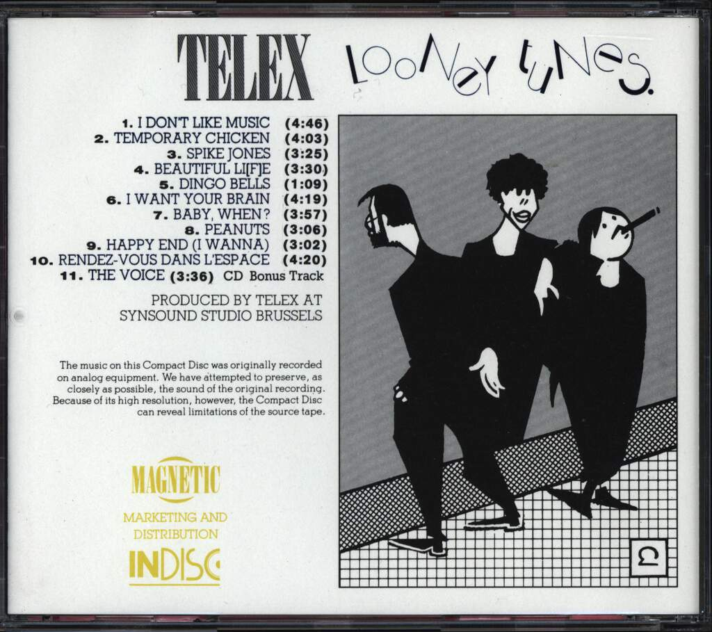 Telex: Looney Tunes, CD