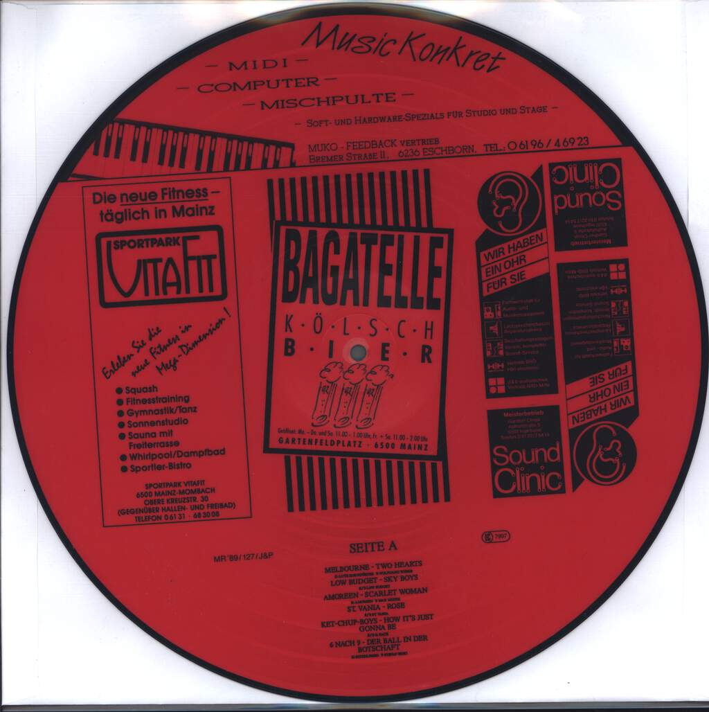 Various: Mayence Rock '89, LP (Vinyl)