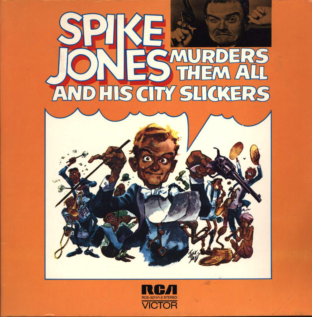 Spike Jones And His City Slickers: Spike Jones Murders Them All, 2×LP (Vinyl)
