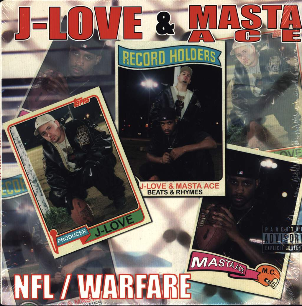 "J-Love: NFL / Warfare, 12"" Maxi Single (Vinyl)"