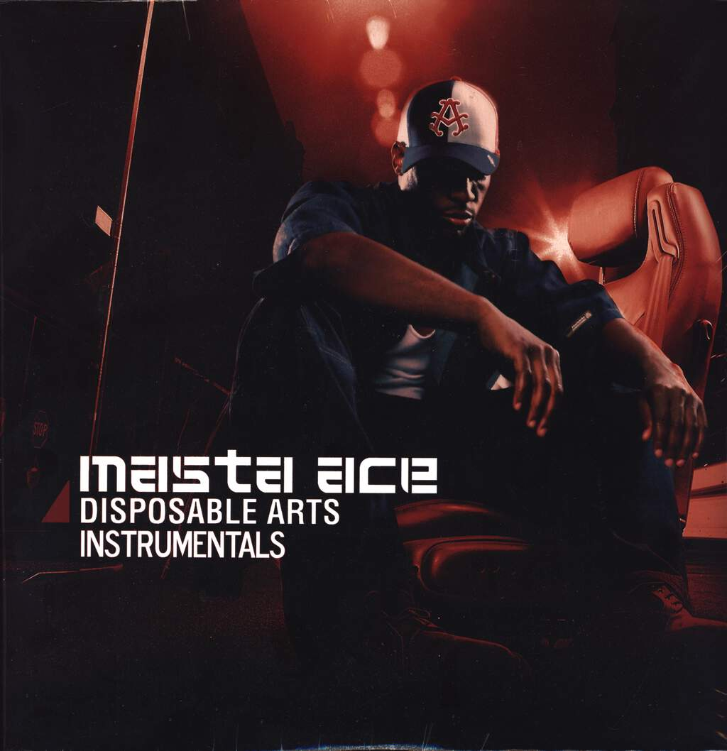 Masta Ace: Disposable Arts Instrumentals, LP (Vinyl)