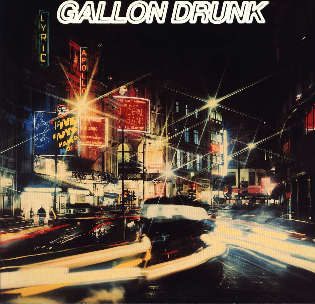 Gallon Drunk: From The Heart Of Town, LP (Vinyl)