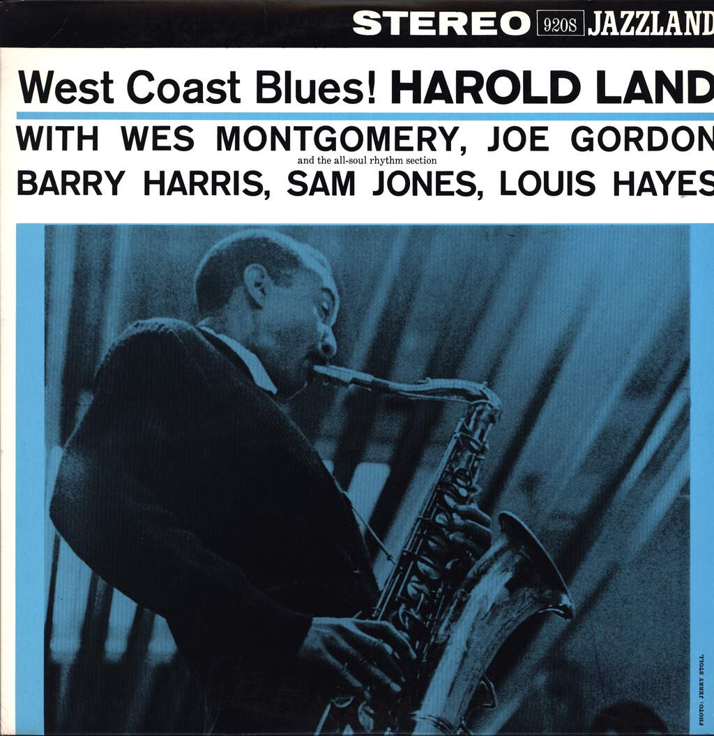 Harold Land: West Coast Blues!, LP (Vinyl)
