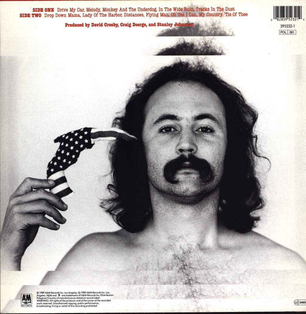 David Crosby: Oh Yes I Can, LP (Vinyl)