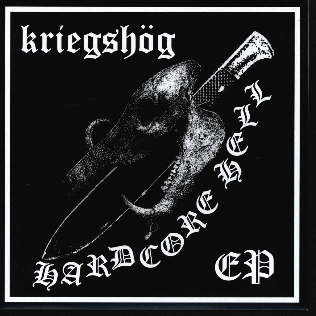 "Kriegshög: Hardcore Hell, 7"" Single (Vinyl)"