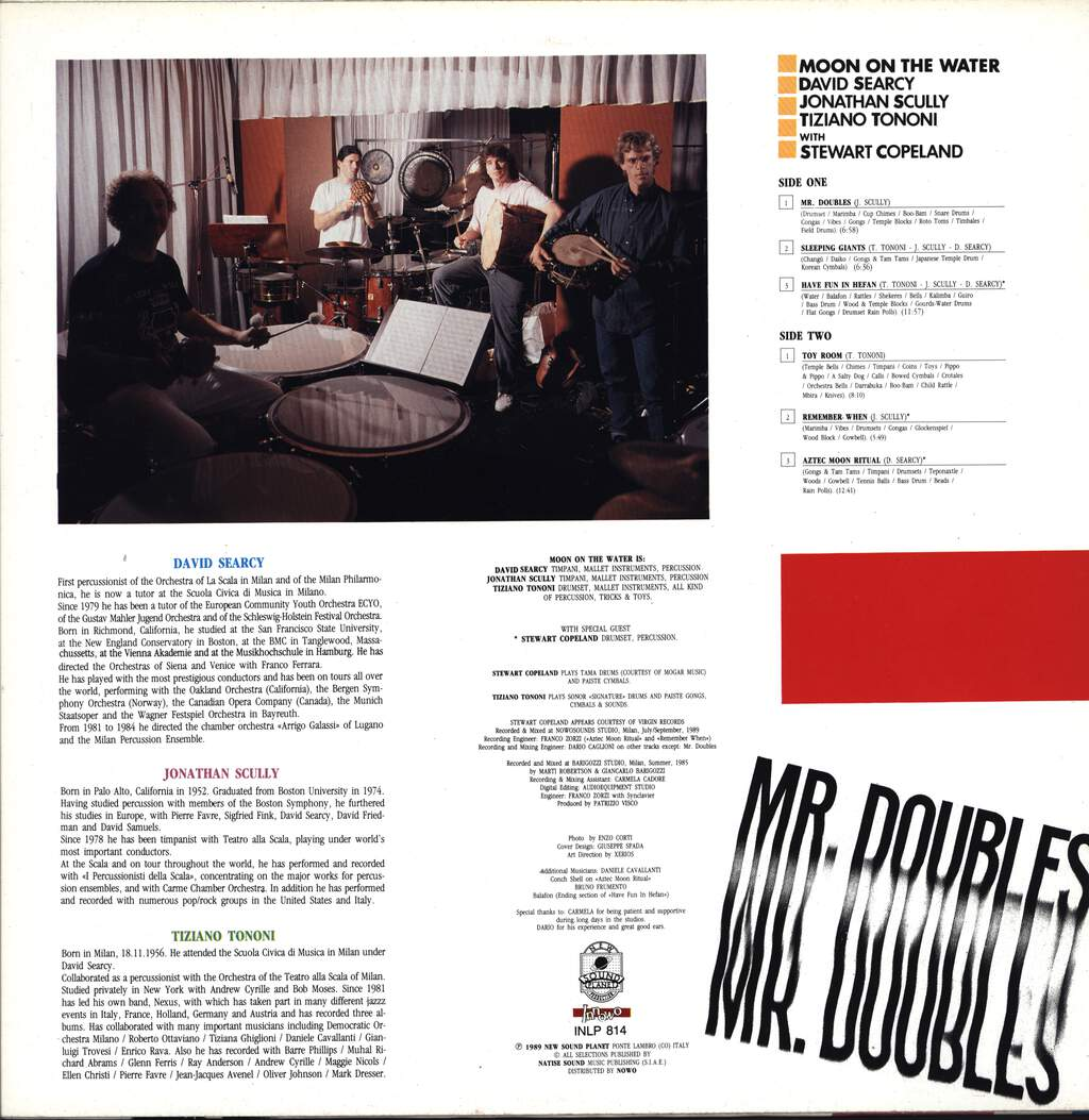 Moon On The Water: Mr. Doubles, LP (Vinyl)