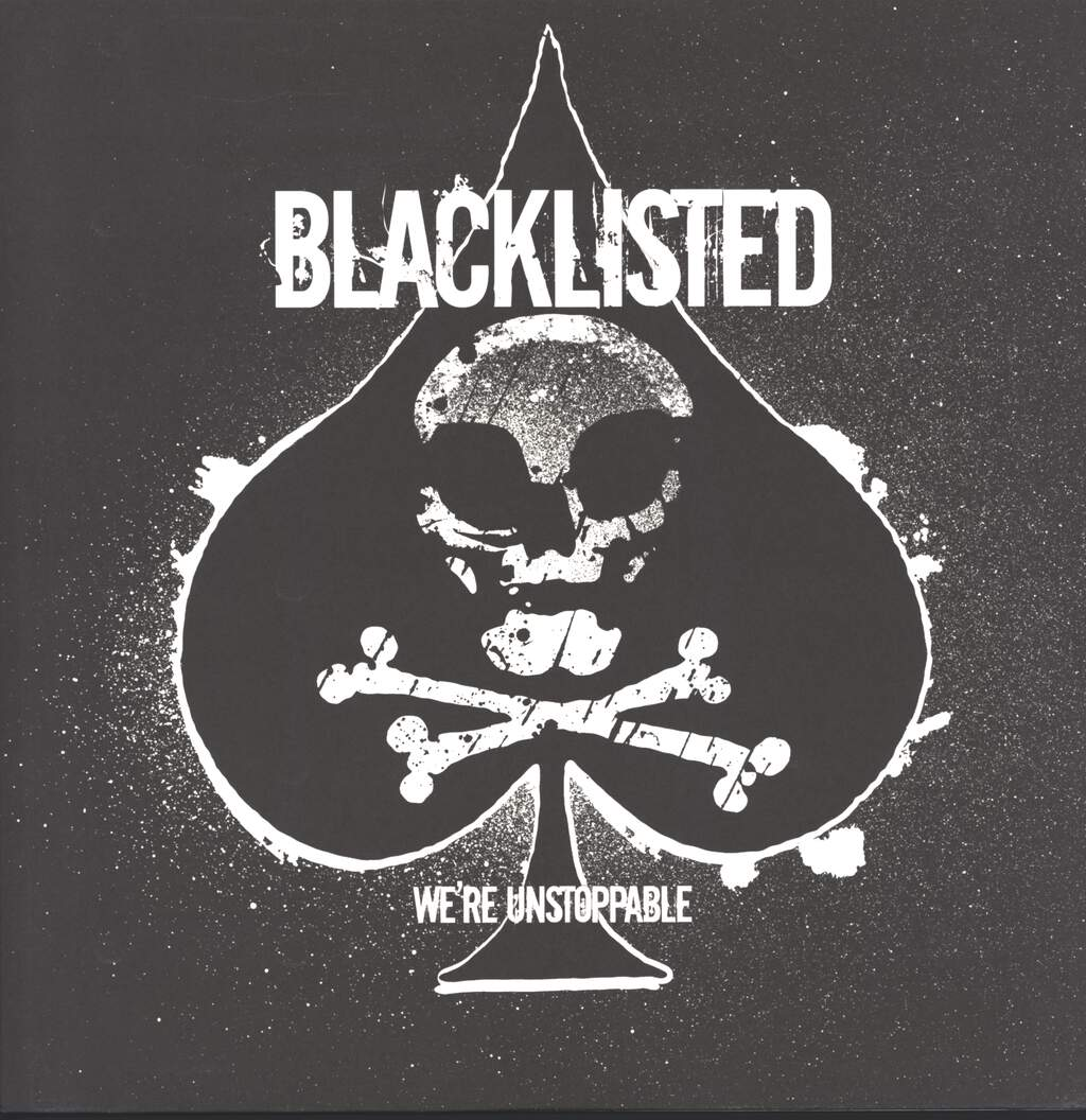 "Blacklisted: We're Unstoppable, 12"" Maxi Single (Vinyl)"