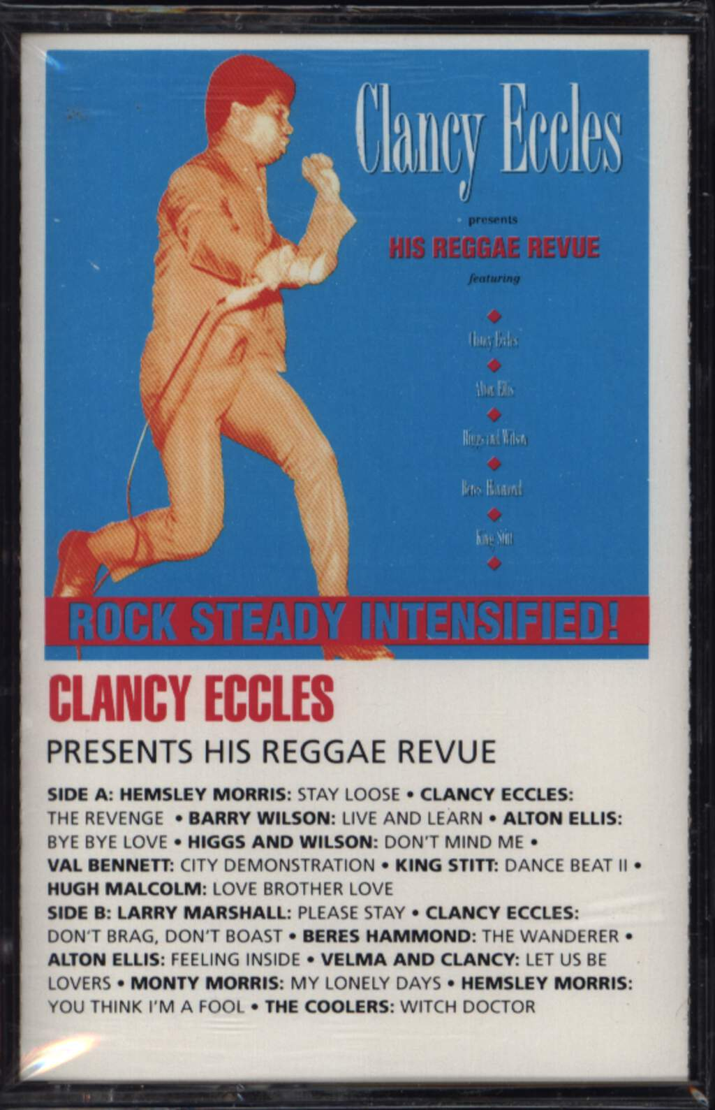 Various: Clancy Eccles Presents His Reggae Revue, Compact Cassette