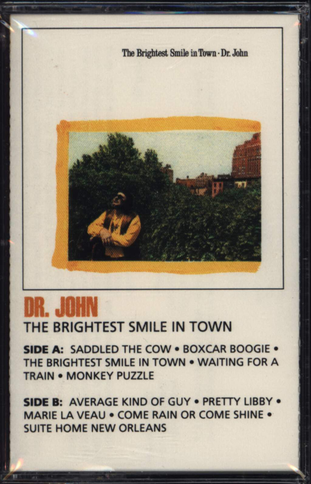 Dr. John: The Brightest Smile In Town, Compact Cassette