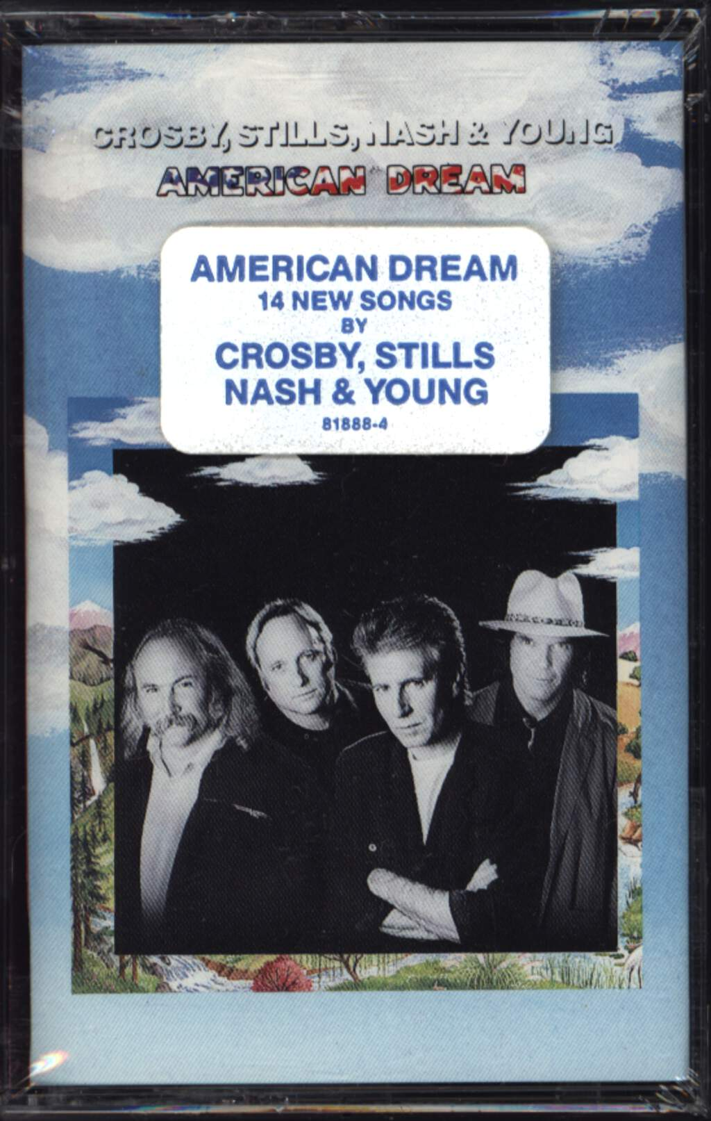 Crosby, Stills, Nash & Young: American Dream, Compact Cassette