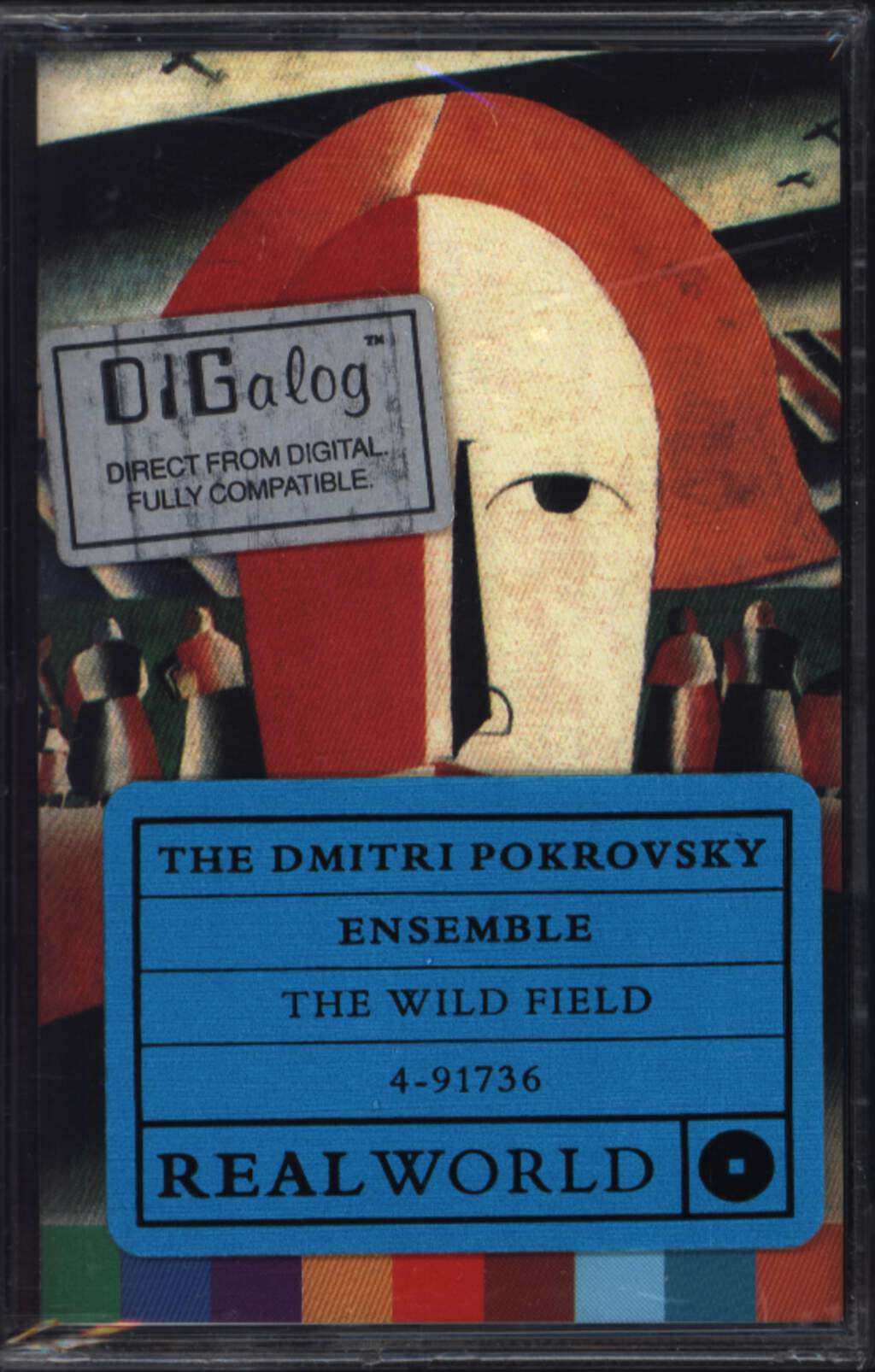 The Dmitri Pokrovsky Ensemble: The Wild Field, Compact Cassette