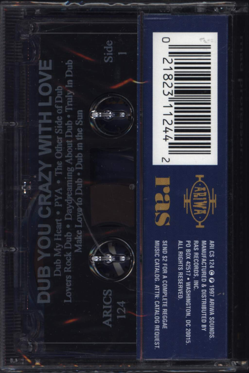 Mad Professor: Dub You Crazy With Love, Compact Cassette