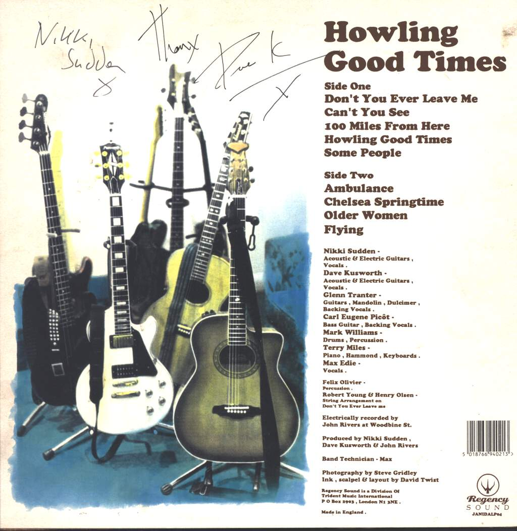 The Jacobites: Howling Good Times, LP (Vinyl)