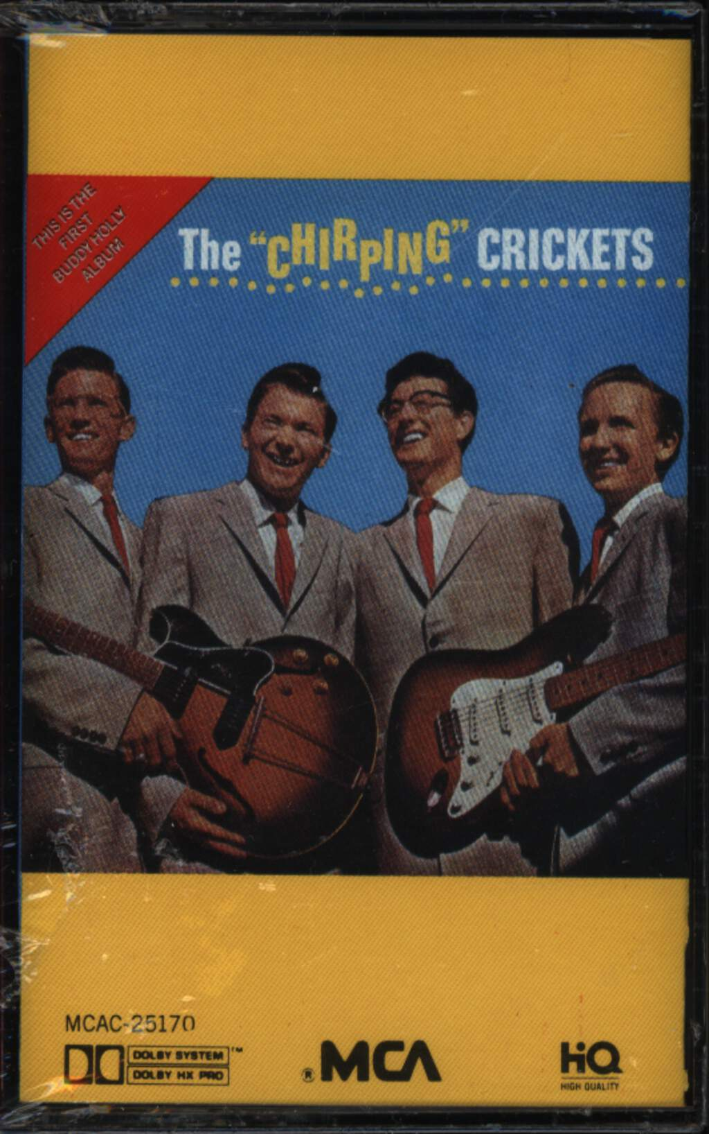 "Buddy Holly: The ""Chirping"" Crickets, Compact Cassette"