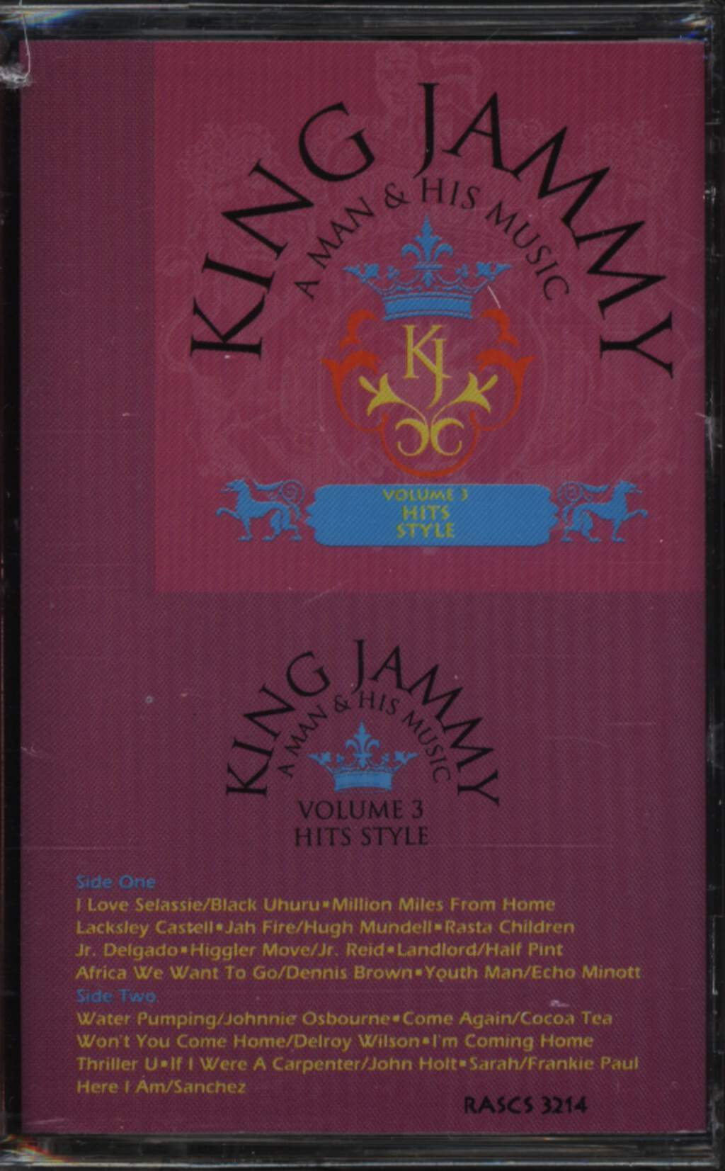 Various: King Jammy: A Man & His Music, Volume 3 - Hits Style, Compact Cassette