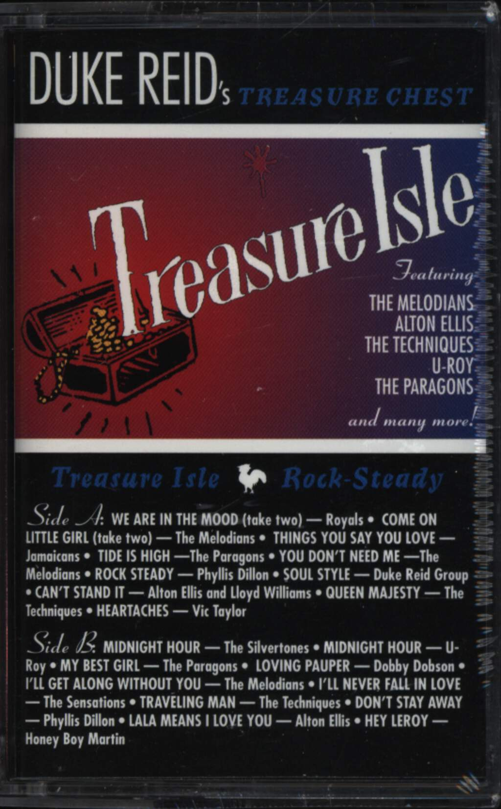 Various: Duke Reid's Treasure Chest, Compact Cassette