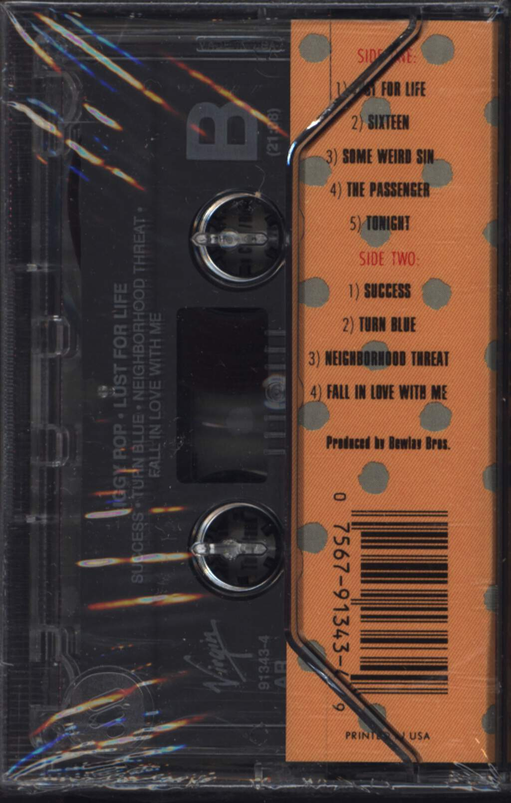 Iggy Pop: Lust For Life, Compact Cassette