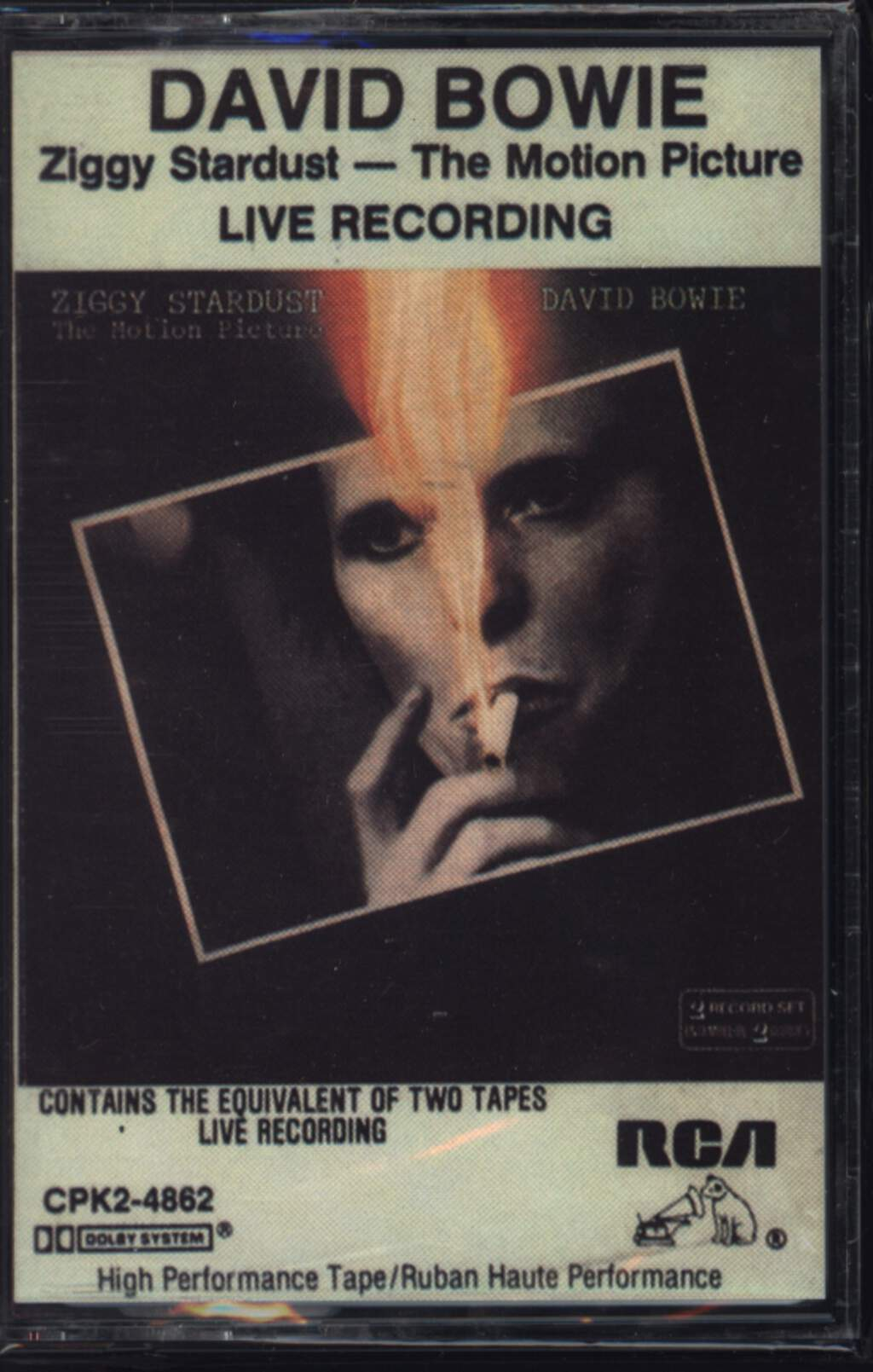 David Bowie: Ziggy Stardust - The Motion Picture, Compact Cassette