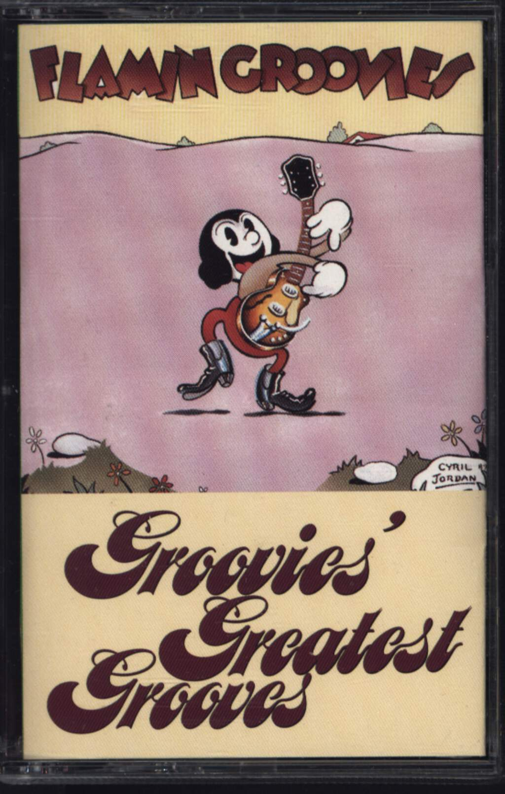 The Flamin' Groovies: Groovies' Greatest Grooves, Compact Cassette