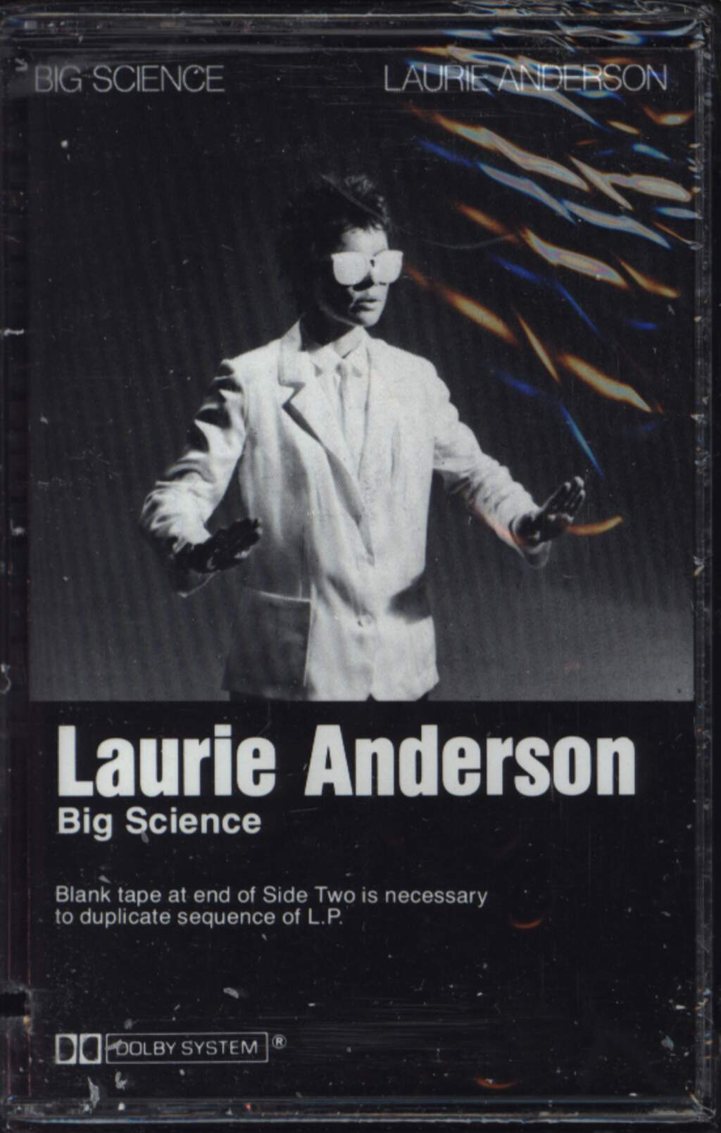 Laurie Anderson: Big Science, Compact Cassette