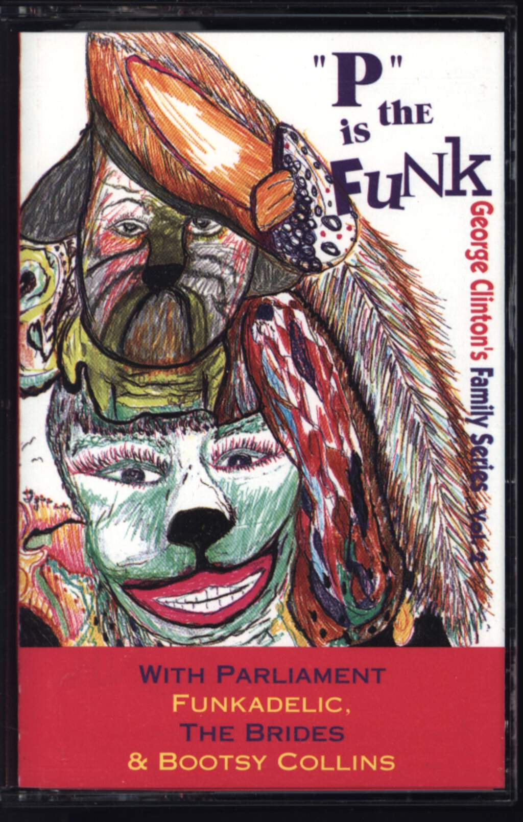 "Various: ""P"" Is The Funk, Compact Cassette"