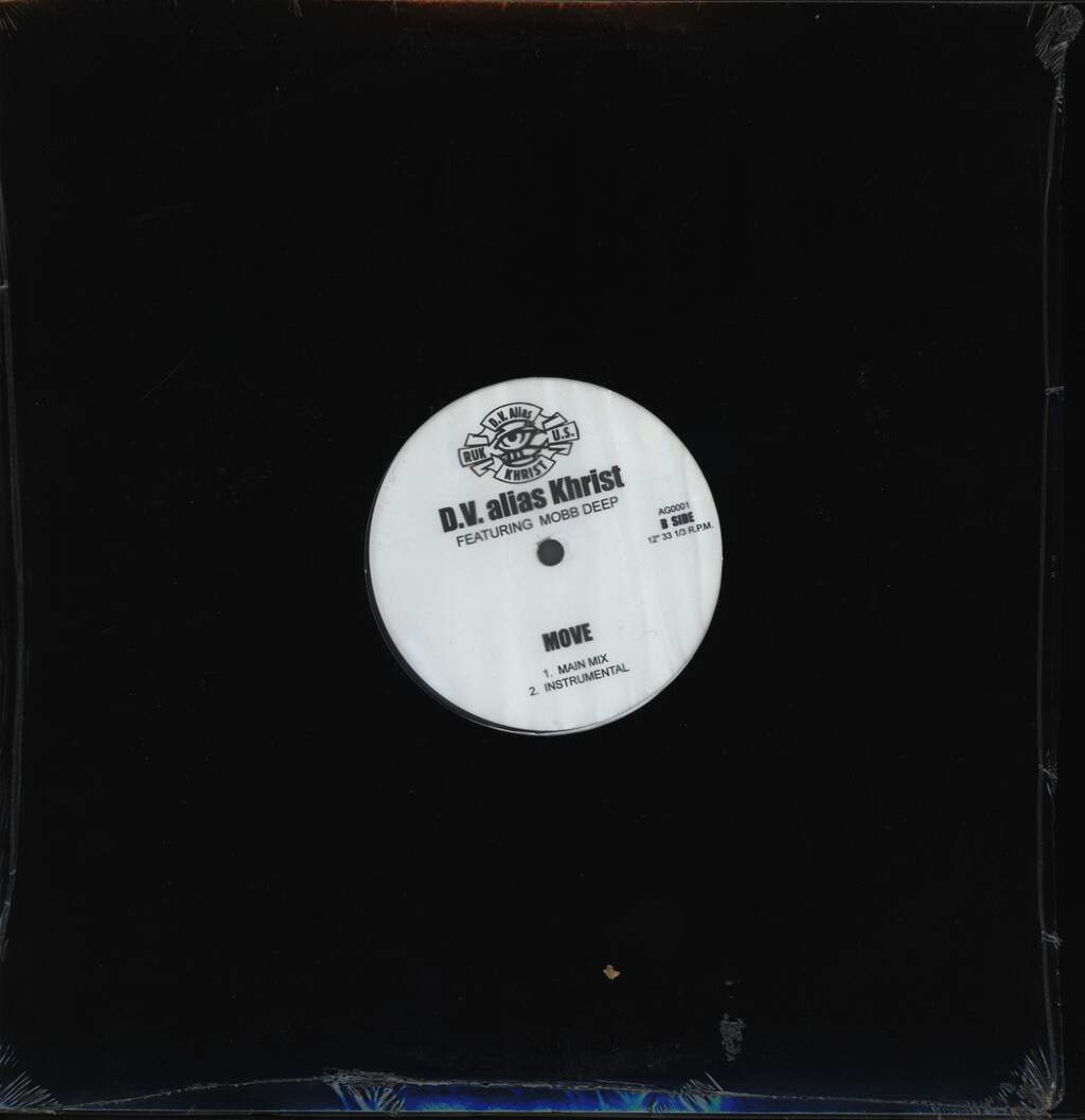 "D. V.(Alias Khrist): Building / Move, 12"" Maxi Single (Vinyl)"