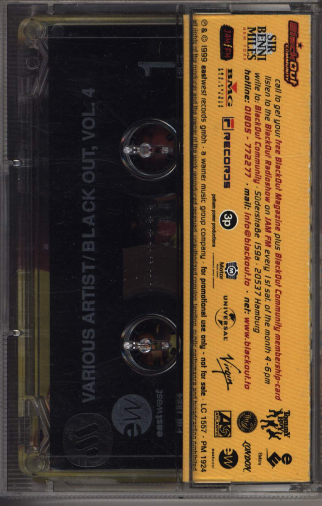 Various Artists: Black Out Vol. 4 (The Colors Of Black Music), Compact Cassette