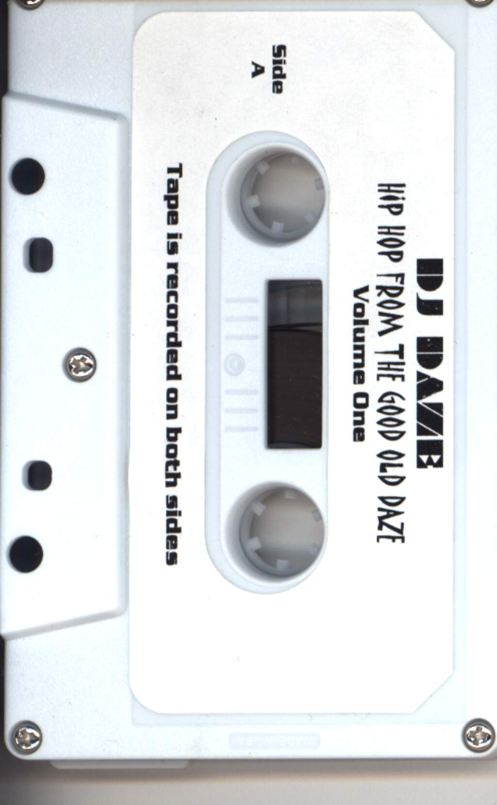 DJ Daze: Hip Hop From The Good Old Daze, Compact Cassette