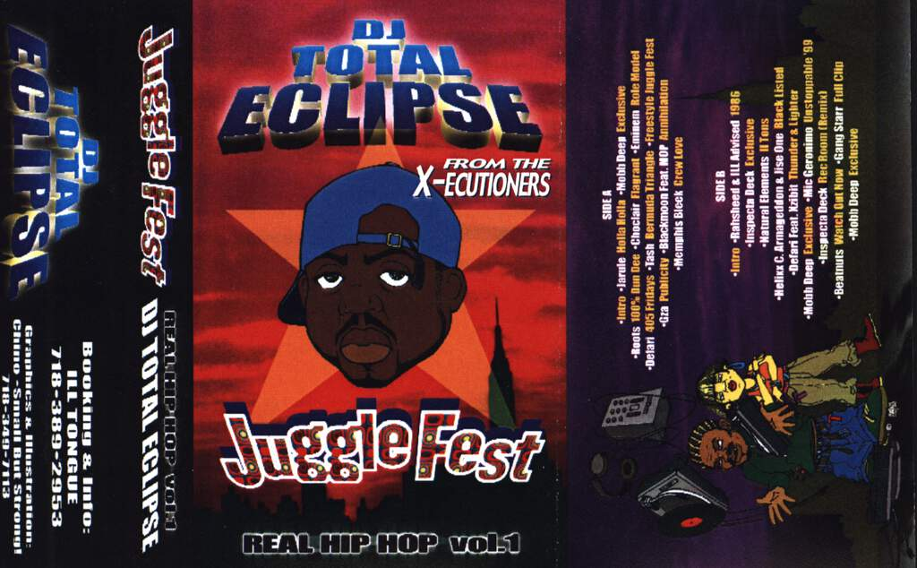 DJ Total Eclipse: Juggle Fest: Real Hip Hop Vol.1, Compact Cassette