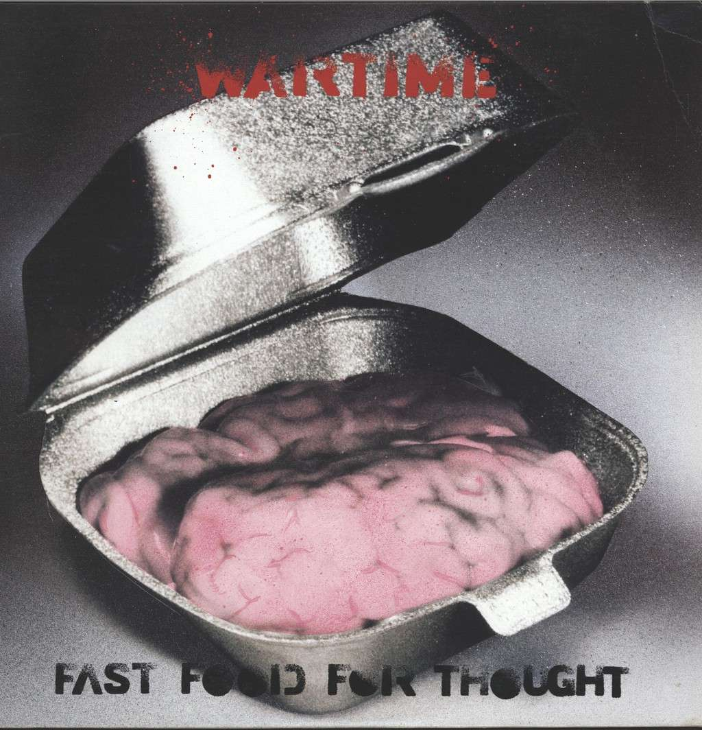 Wartime: Fast Food For Thought, Mini LP (Vinyl)