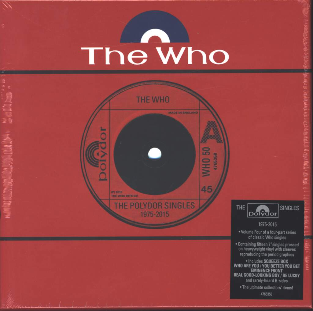 "The Who: The Polydor Singles 1975-2015, 7"" Single (Vinyl)"