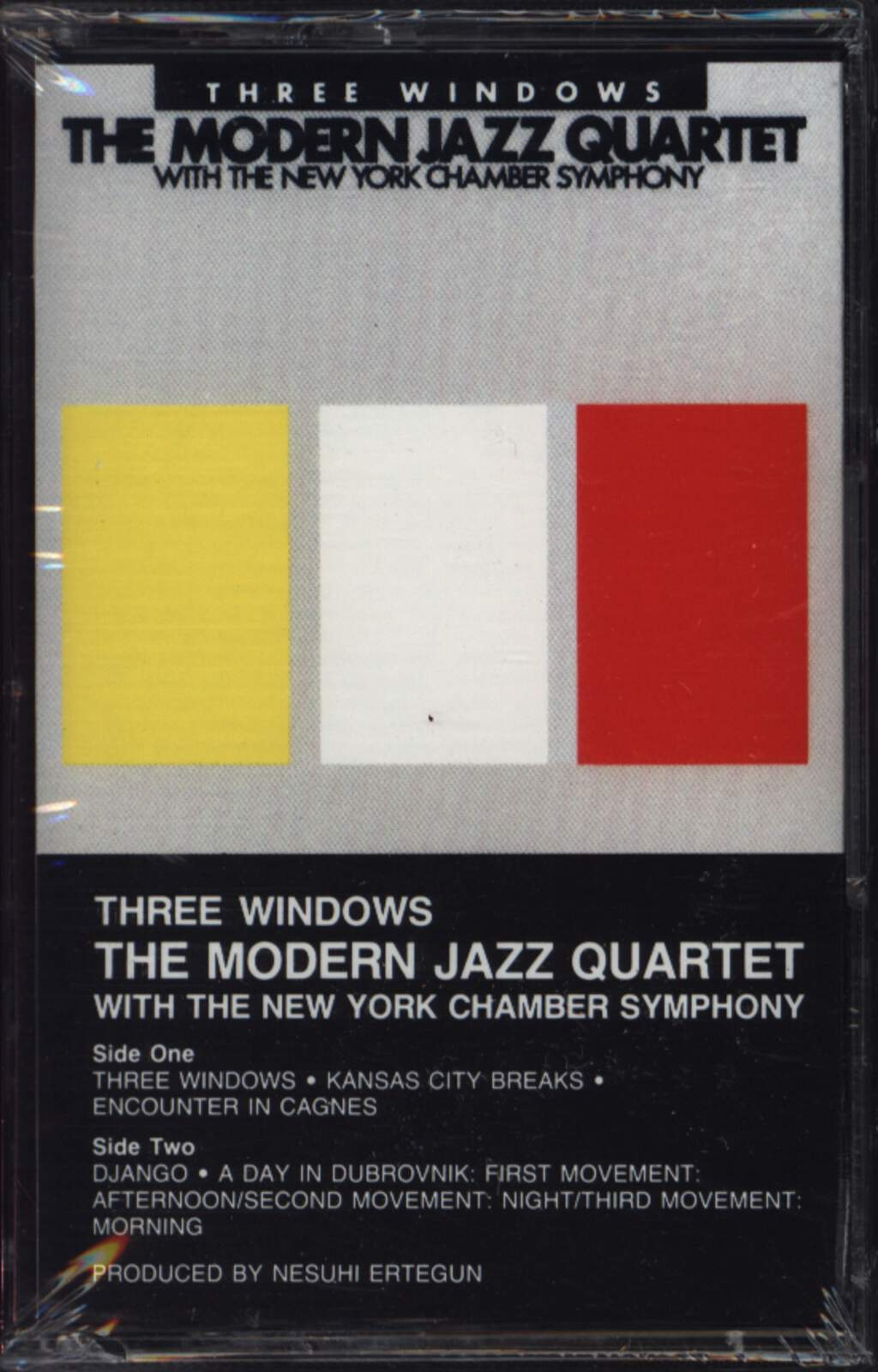 The Modern Jazz Quartet: Three Windows, Compact Cassette