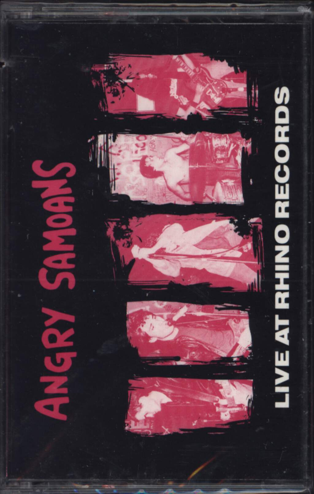 Angry Samoans: Live At Rhino Records, Tape