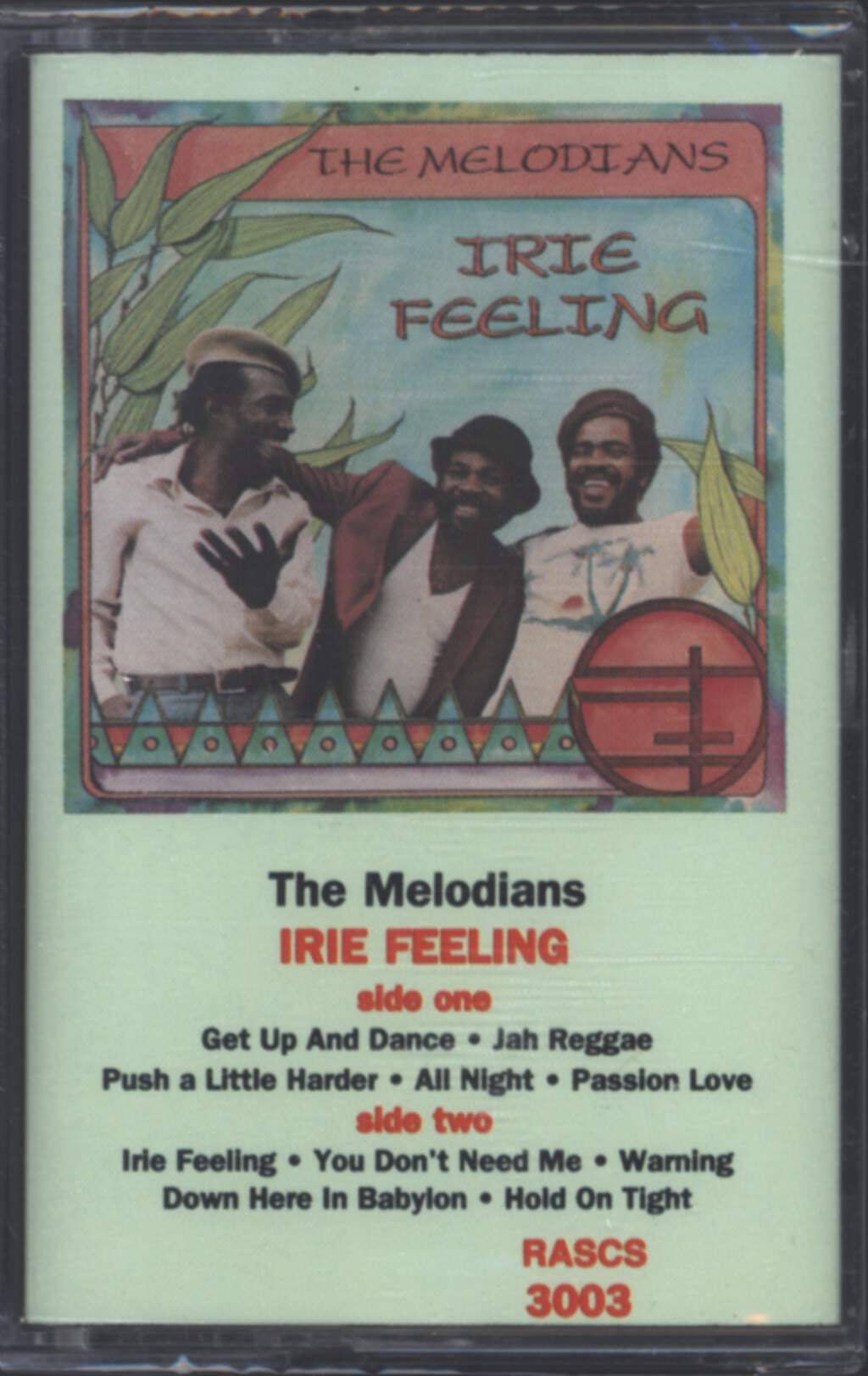 The Melodians: Irie Feeling, Compact Cassette