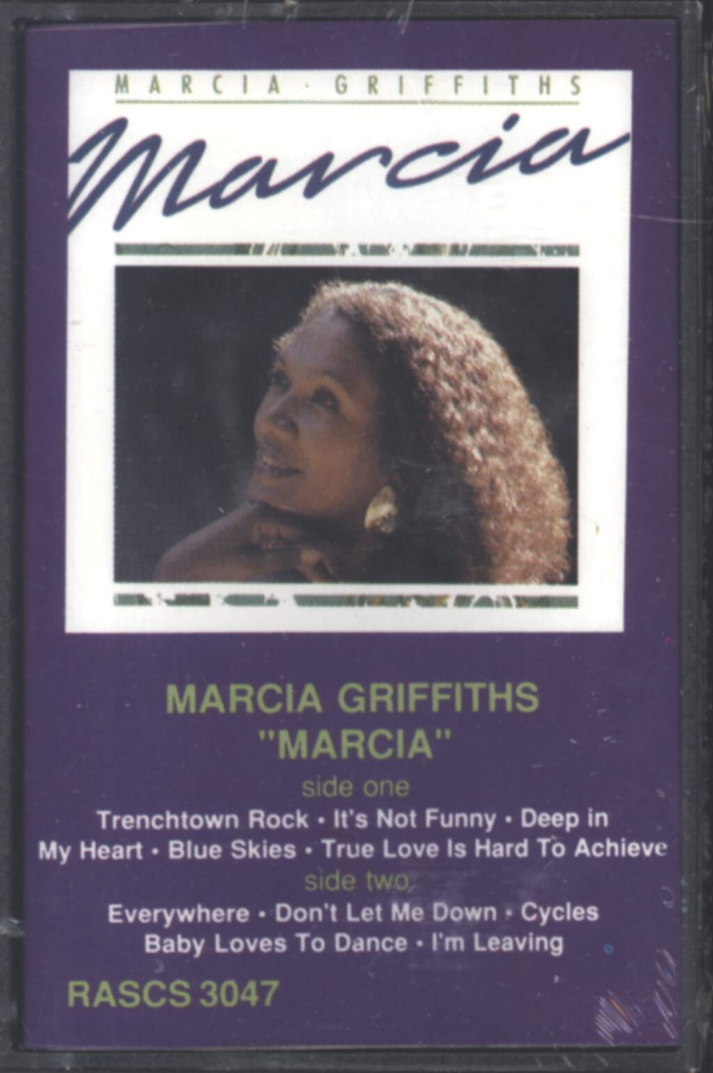 Marcia Griffiths: Marcia, Compact Cassette
