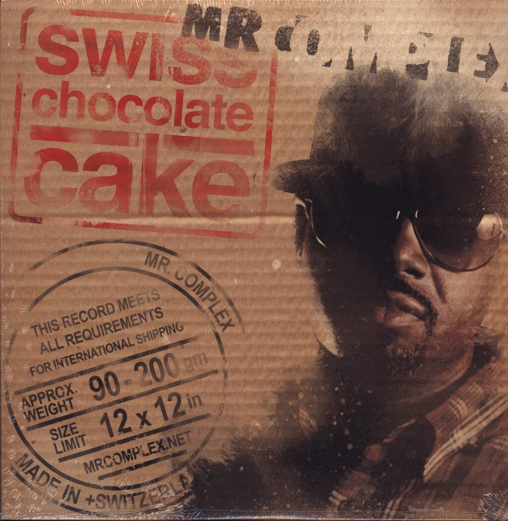 Mr Complex: Swiss Chocolate Cake, LP (Vinyl)