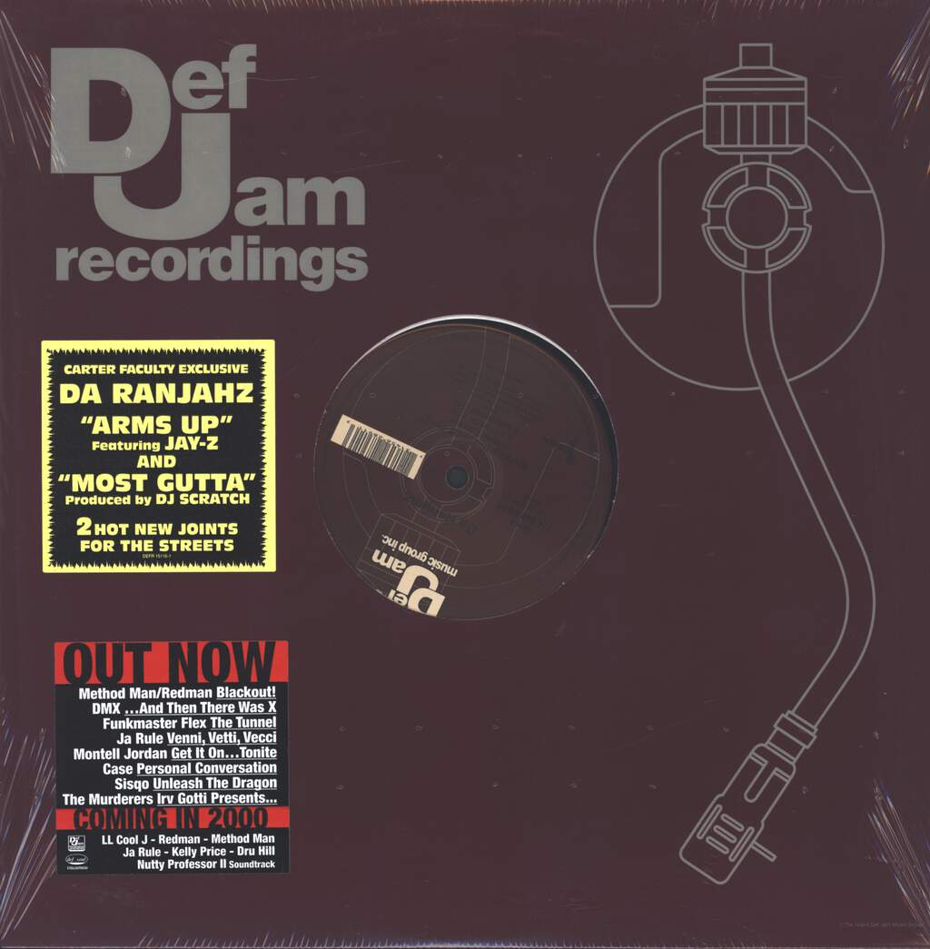 "Da Ranjahz: Arms Up, 12"" Maxi Single (Vinyl)"