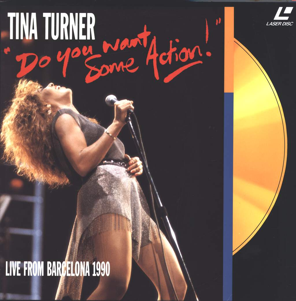 Tina Turner: Do You Want Some Action!, LaserDisk