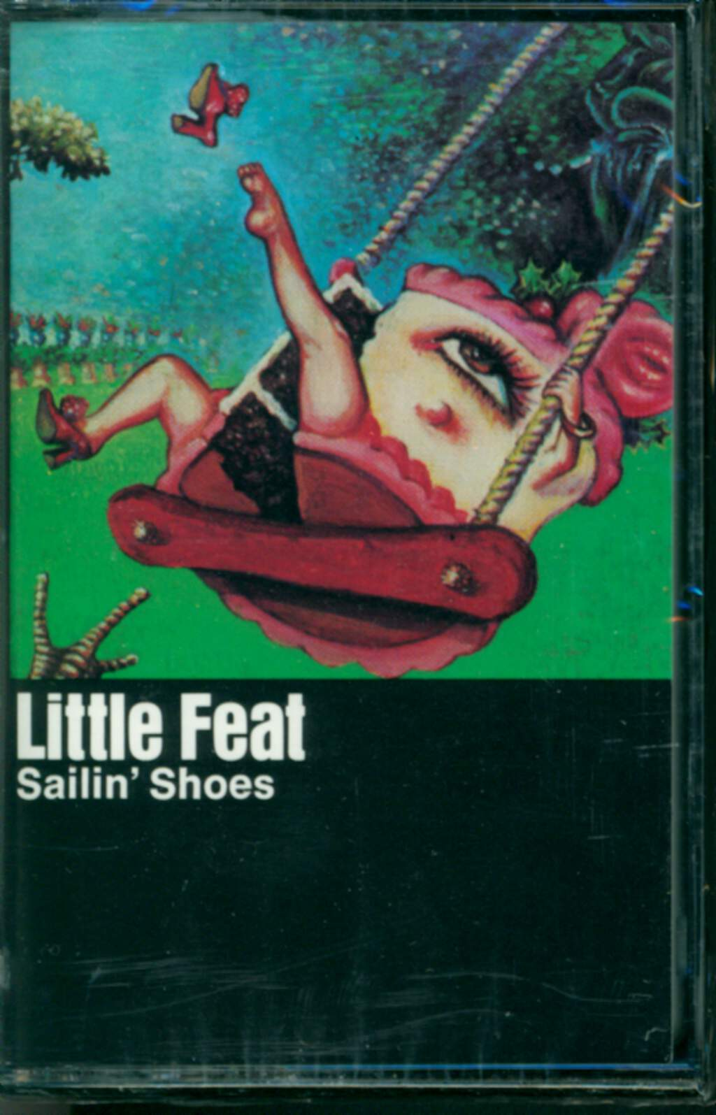 Little Feat: Sailin' Shoes, Compact Cassette