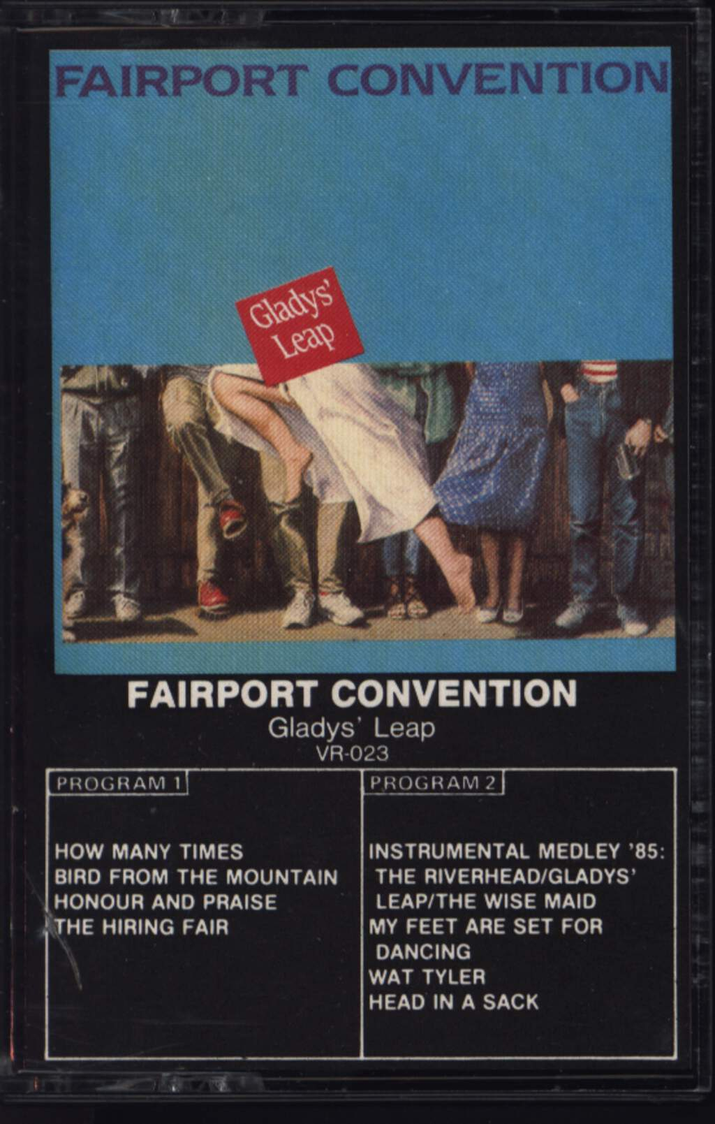 Fairport Convention: Glady's Leap, Tape