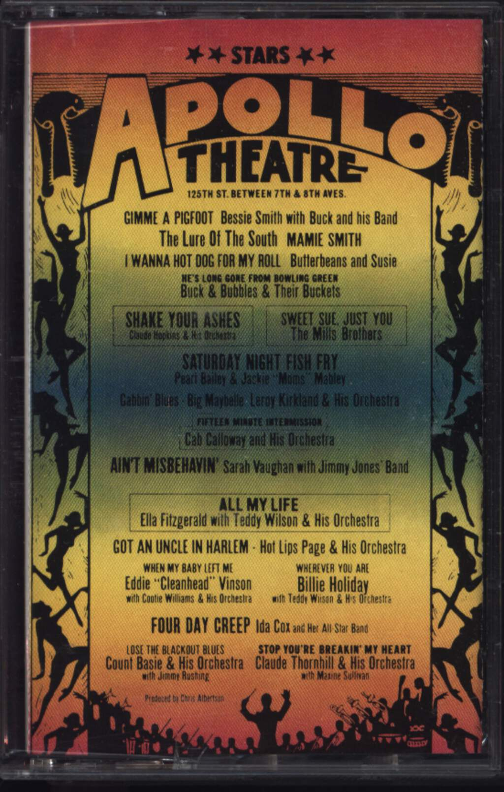 Various: Stars Of The Apollo Theatre, 2×Tape