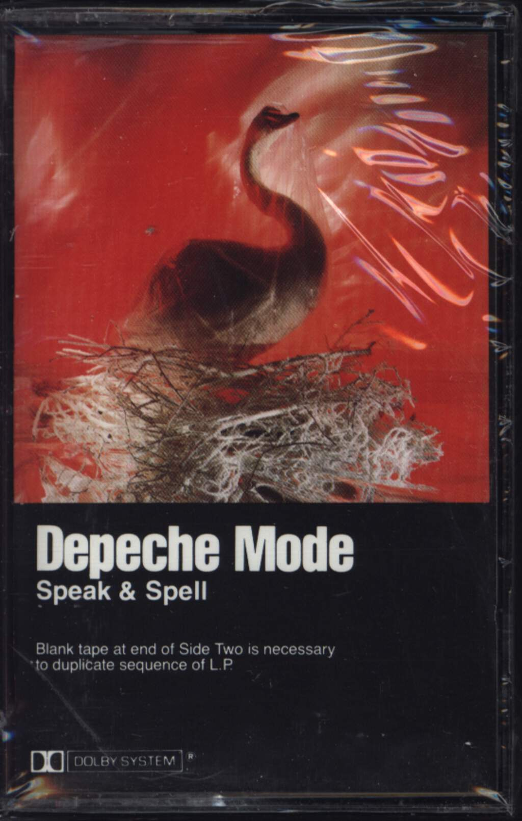 Depeche Mode: Speak & Spell, Compact Cassette