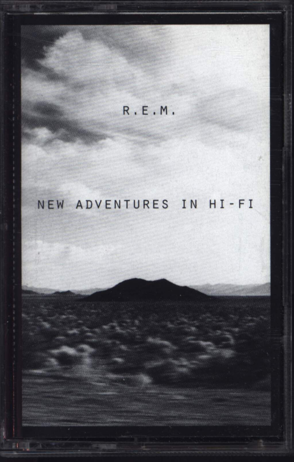 R.E.M.: New Adventures In Hi-Fi, Compact Cassette